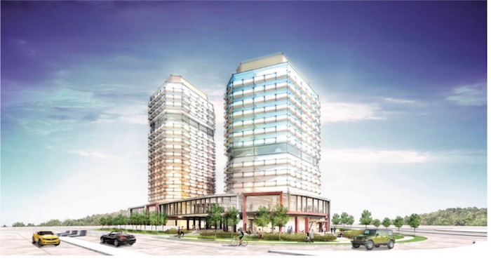 271 Cornwall Rd Condos - rear view - new condos downtown oakville