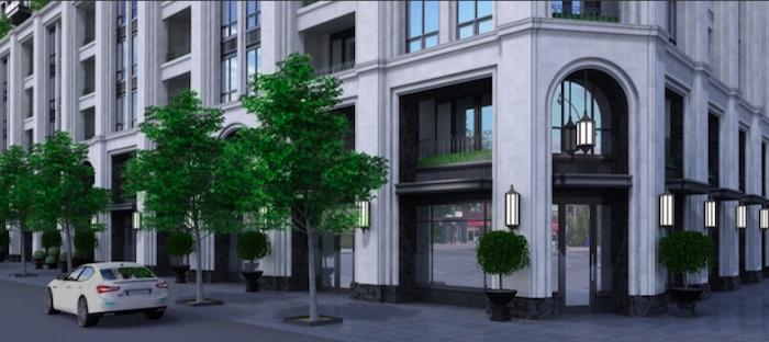 3180 Yonge St Condos - entrance - new bedford park condos