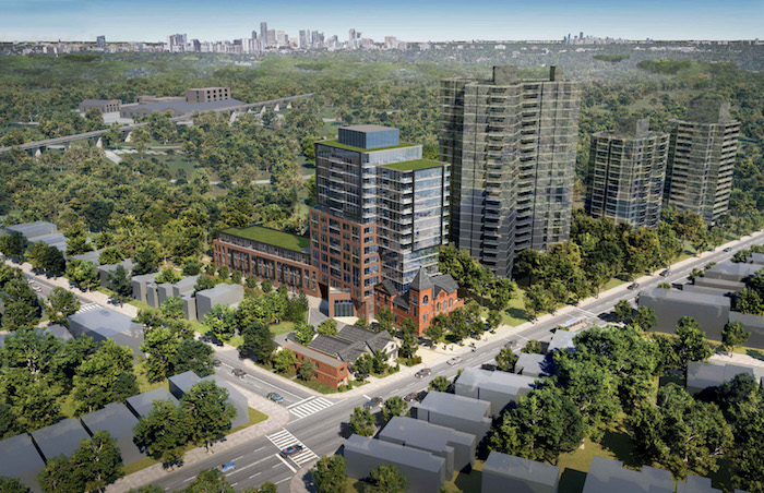 954 Broadview Ave Condos - aerial view - new playter estates condos