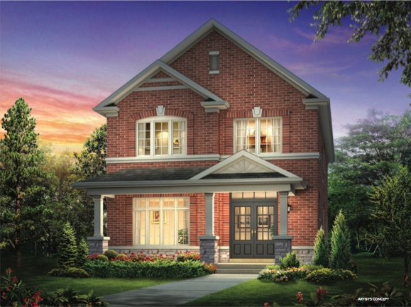 Cornell Rouge Phase 7 (Forest Hill) - red brick detached - new cornell towns