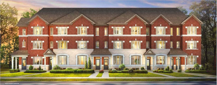 Cornell Rouge Phase 7 (Forest Hill) - townhomes - new cornell homes