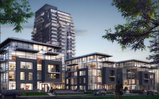 Landing Condos - hero view - new whitby condos - 1614 charles st