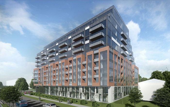 1184 Wilson Ave Condos - diagonal view