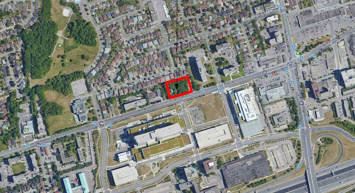 1184 Wilson Ave Condos - site map - downsview condos