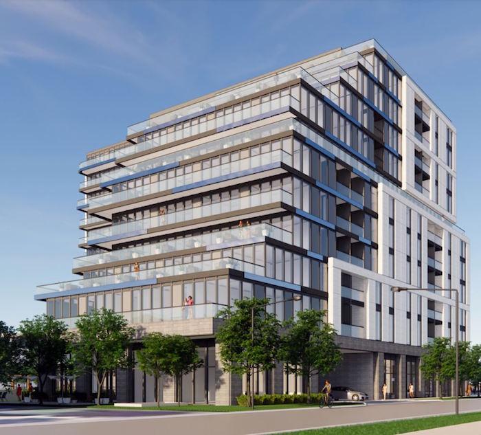 420 Lakeshore Rd East Condos - rear street view - new mississauga condos