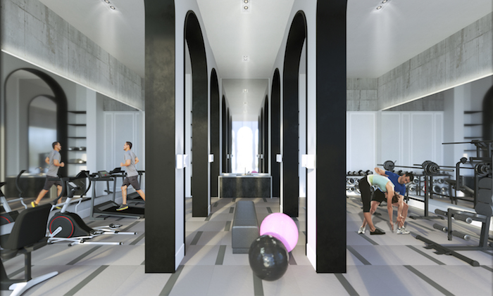 Mill Landing Condos (Phase 2) - fitness centre