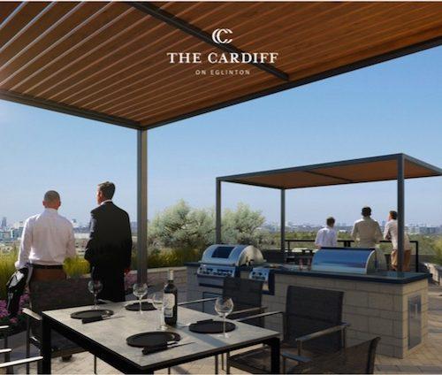 Cardiff Condos - upper terrace