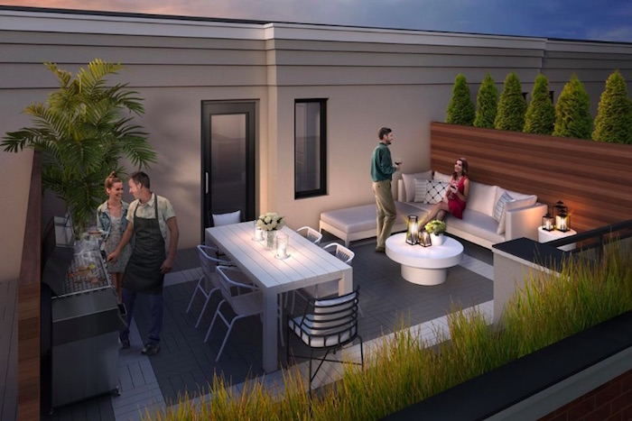 High Point Urban Towns - rooftop terrace