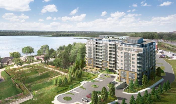 LakeVu Condos 2 - aerial view