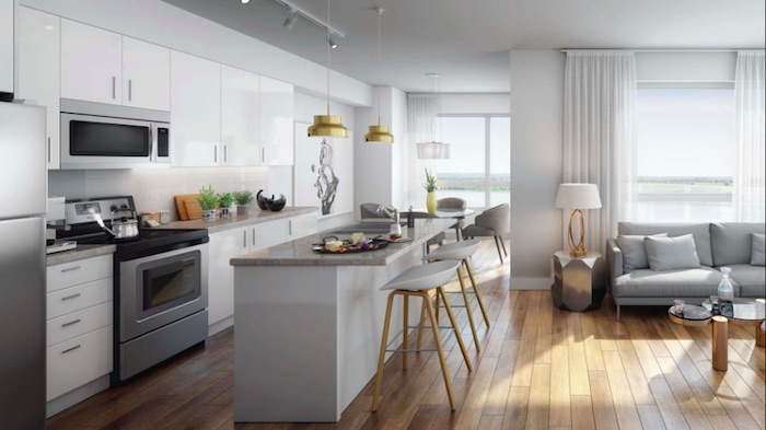 LakeVu Condos - kitchen