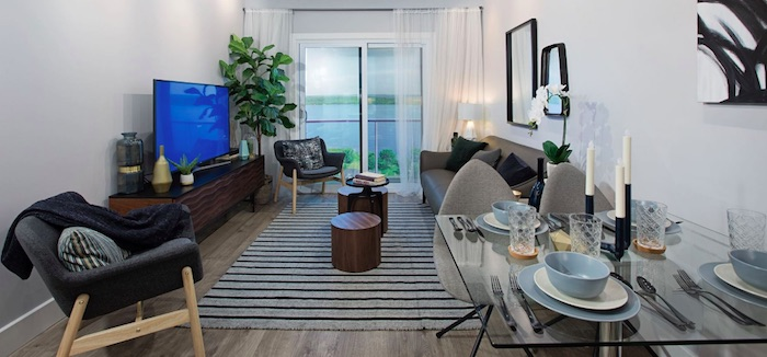 LakeVu Condos - living room