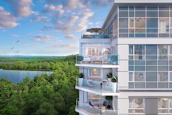 LakeVu Two - Aerial Balcony