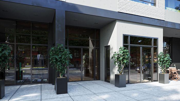 Nahid at 800 Broadview Condos - entrance