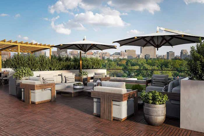 Nahid on Broadview Condos - rooftop daytime