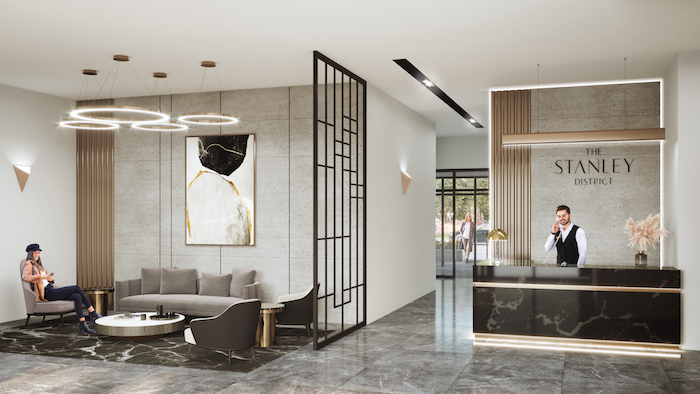 Stanley District Condos 2 - lobby