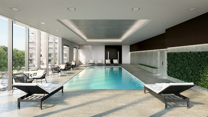 Stanley District Condos 2 -pool