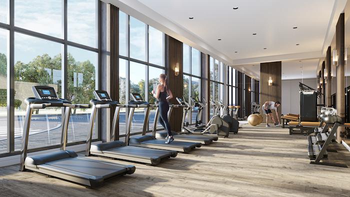 Stanley District Condos 2 - gym
