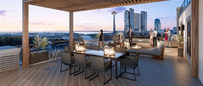 Stanley District Condos 2 - outdoor terrace