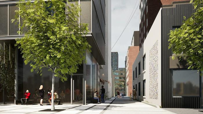 11-Pleasant-Blvd-Condos-side-alley