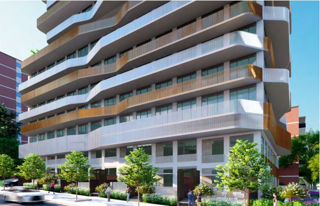 46 Park St East Condos - street view - port credit condos