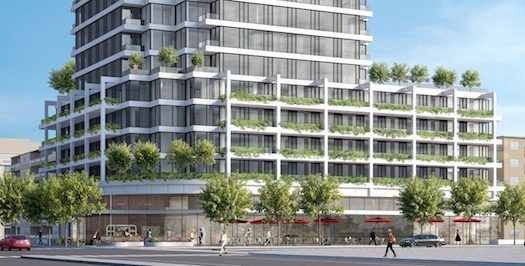 4926 Bathurst St Condos - podium view - willowdale condos