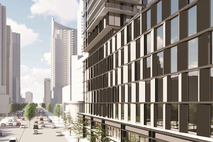 5051 Yonge St Condos - view to street