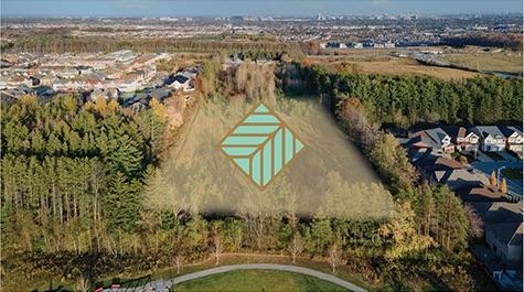 Dufferin Vistas - aerial site view