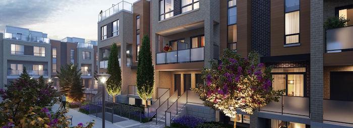 Glenway Urban Towns - courtyard