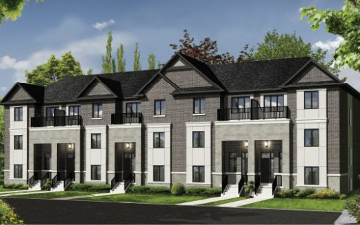 Countryside Pointe Towns - front view color